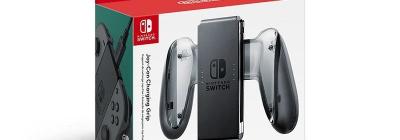 Рукоятка для Joy-Con в комплекте Switch не заряжает контроллеры